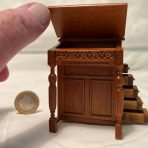 18th C. Davenport Desk – Walnut (DSK02)