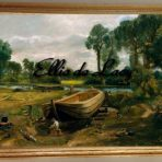 Boat-Building near Flatford Mill (C113)