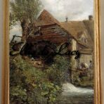 A Watermill at Gillingham Dorset (C115)