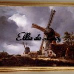 Landscape with Windmills near Haarlem (C124)