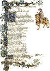 Canterbury Tales, Ellesmere Illuminated Manuscript (F101L)