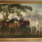 Mares and Foals in a River Landscape (G131)