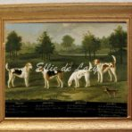 Two Couples of Hounds in a Park Landscape with two Terriers (G137)