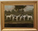 Two Couples of Foxhounds in a Park Landscape with two Terriers (G138)