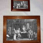 Engraving of Marriage A-la-Mode 3, The Inspection (G154a)