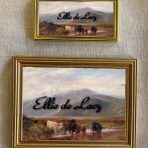 Landscape with Cattle Drinking (H101)