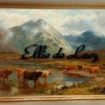 Scotch Cattle and Mist (H105)