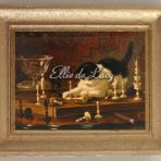 Kitten with Chessboard (HRK104)