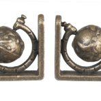 Mini Globe Bookends (BE04)
