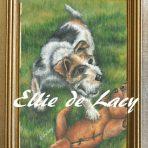 Jock, Fox Terrier from Tattoo reference (OP109)