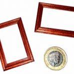 1/24th scale Mahogany Picture Frame (PF_AZ4735_Mahogany)