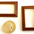 1/24th scale Walnut Picture Frame (PF_AZ4735_Walnut)