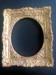 Ornate Oval Antique Gold Picture Frame (PF_AZ6880_Antique_Gold)