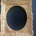 Ornate Oval Gold Picture Frame (PF_AZ6880_Gold)