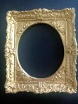 Ornate Oval Antique Gold Plated Effect Picture Frame (PF_AZ6880_Gold_Plated_Effect)