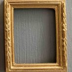 Gold Semi Ornate Picture Frame (PF_HM6150_Semi_Ornate)
