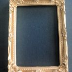 Ornate Gold Picture Frame (PF_HM7455_Gold)