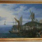 A Harbour Scene (S120)