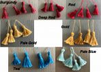 Handmade Tassels by Ellie de Lacy (SFE101)