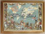 World Map Victorian Period (WM105)