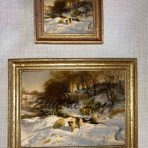 Sheep in the Snow (WS103E)